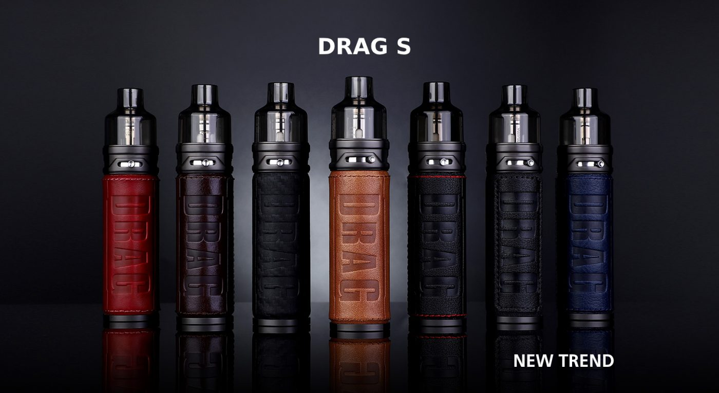 New Product - VOOPOO DRAG S 60W Pod Kit